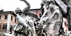 Fontana dei Quattro Fiumi: il Rio de La Plata