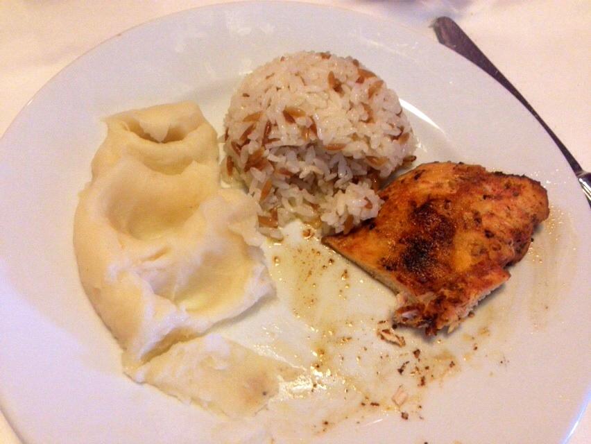 Piattino di pollo