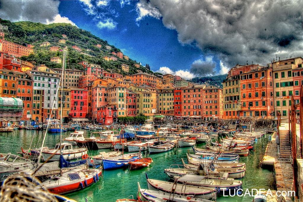 Porticciolo di Camogli: gita fuoriporta in Liguria