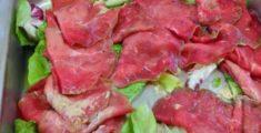 Carpaccio di carne, uno dei miei piatti preferiti (foto)