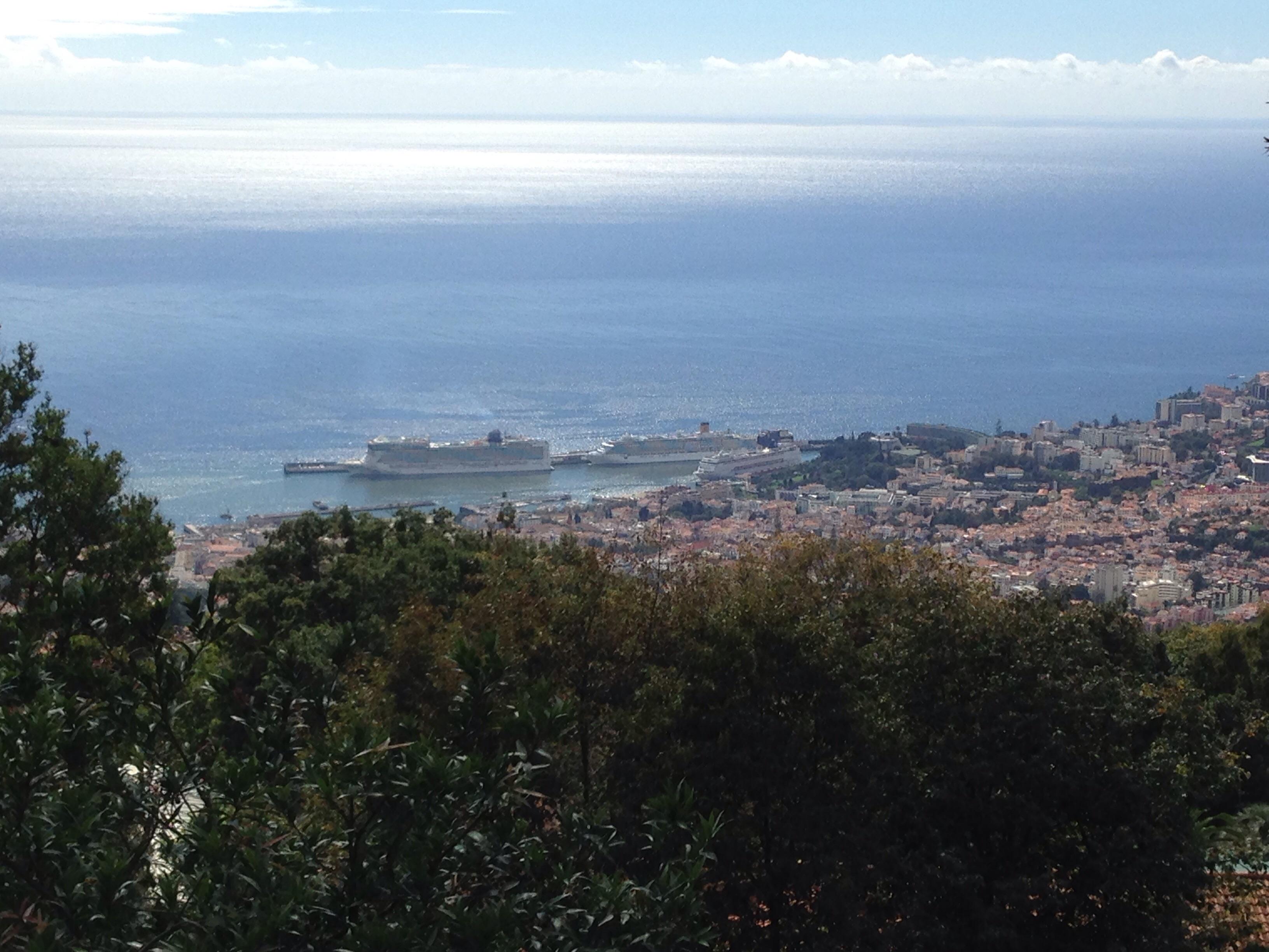 Funchal dall'alto