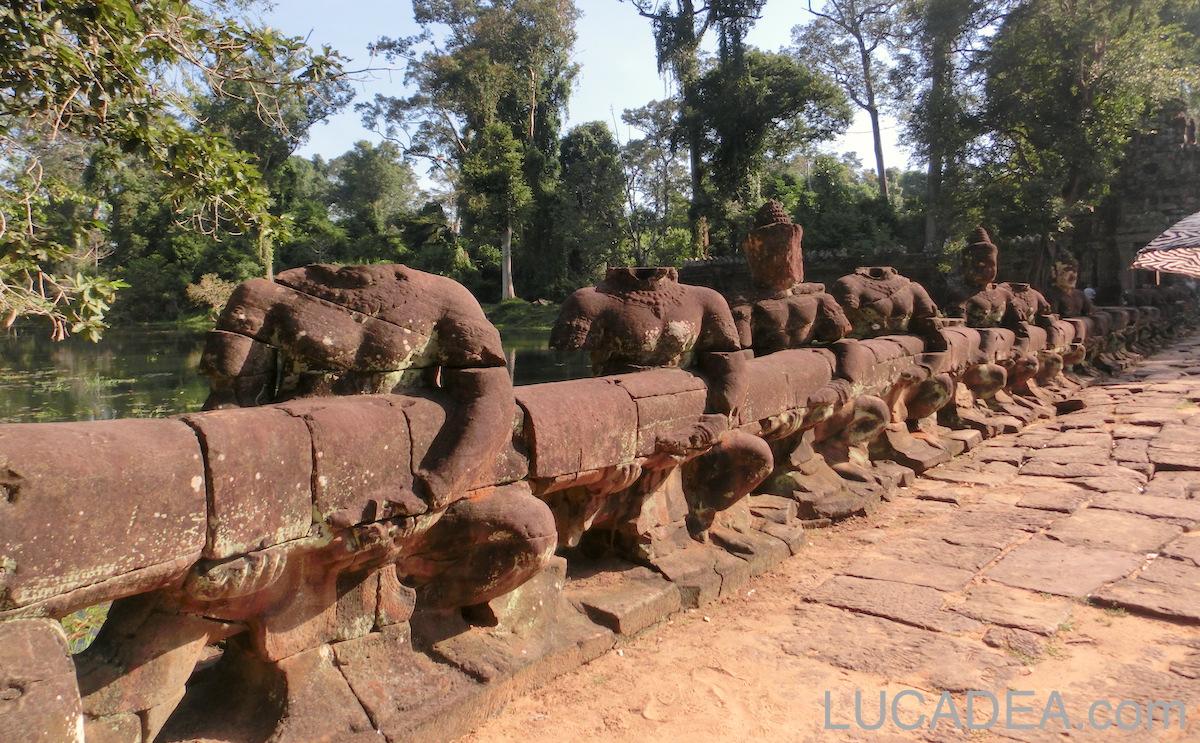 Preah Khan in Cambodia