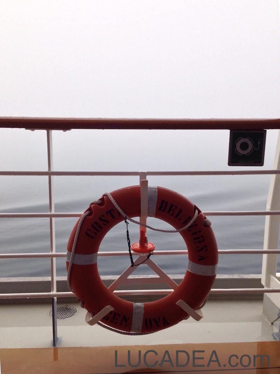 Autunno in mezzo al mare