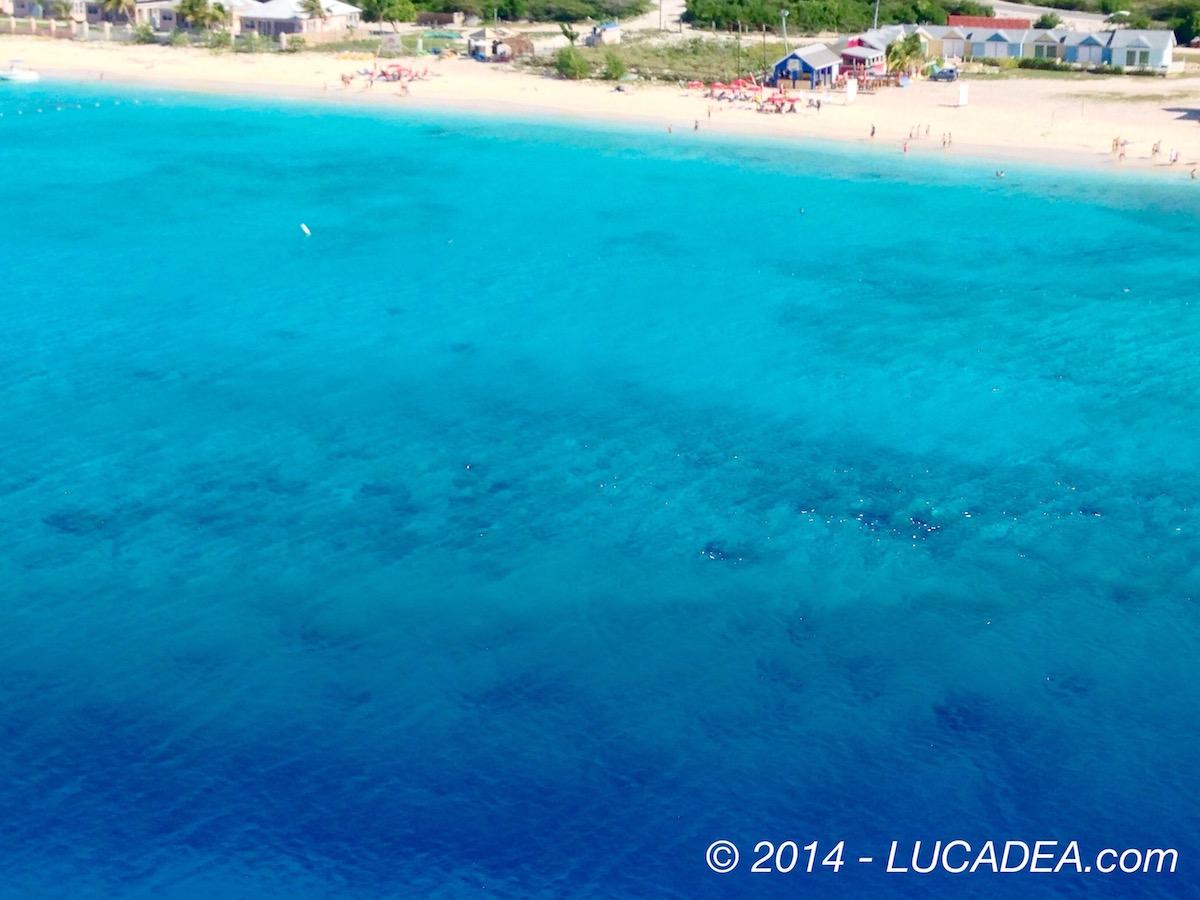 Mare da sogno: blu caraibico