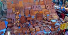 Oggetti in legno marocchini (foto)