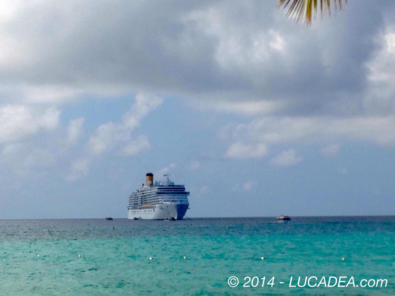 Costa Luminosa da Princess Cays (foto)