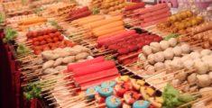 Bancarelle piene di colori