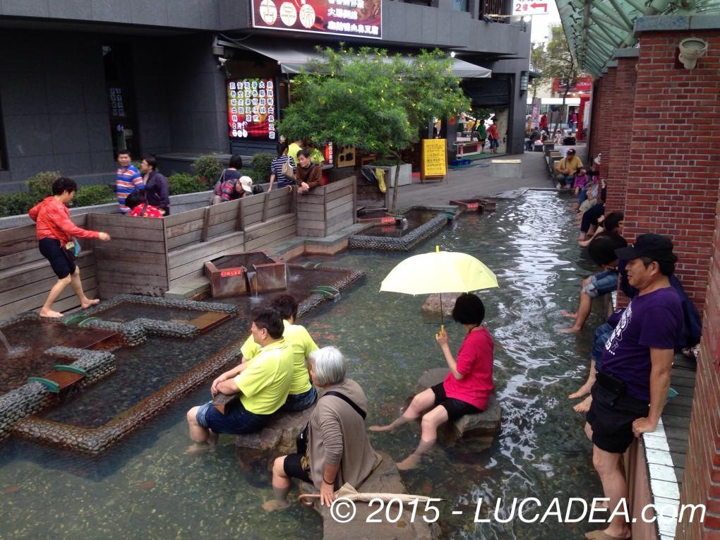 Hot spring in Ylan