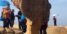 Queen Head nel Geopark di Yehliu: la roccia a forma di regina (foto)