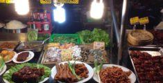 Bancarella del night market di Kaohsiung