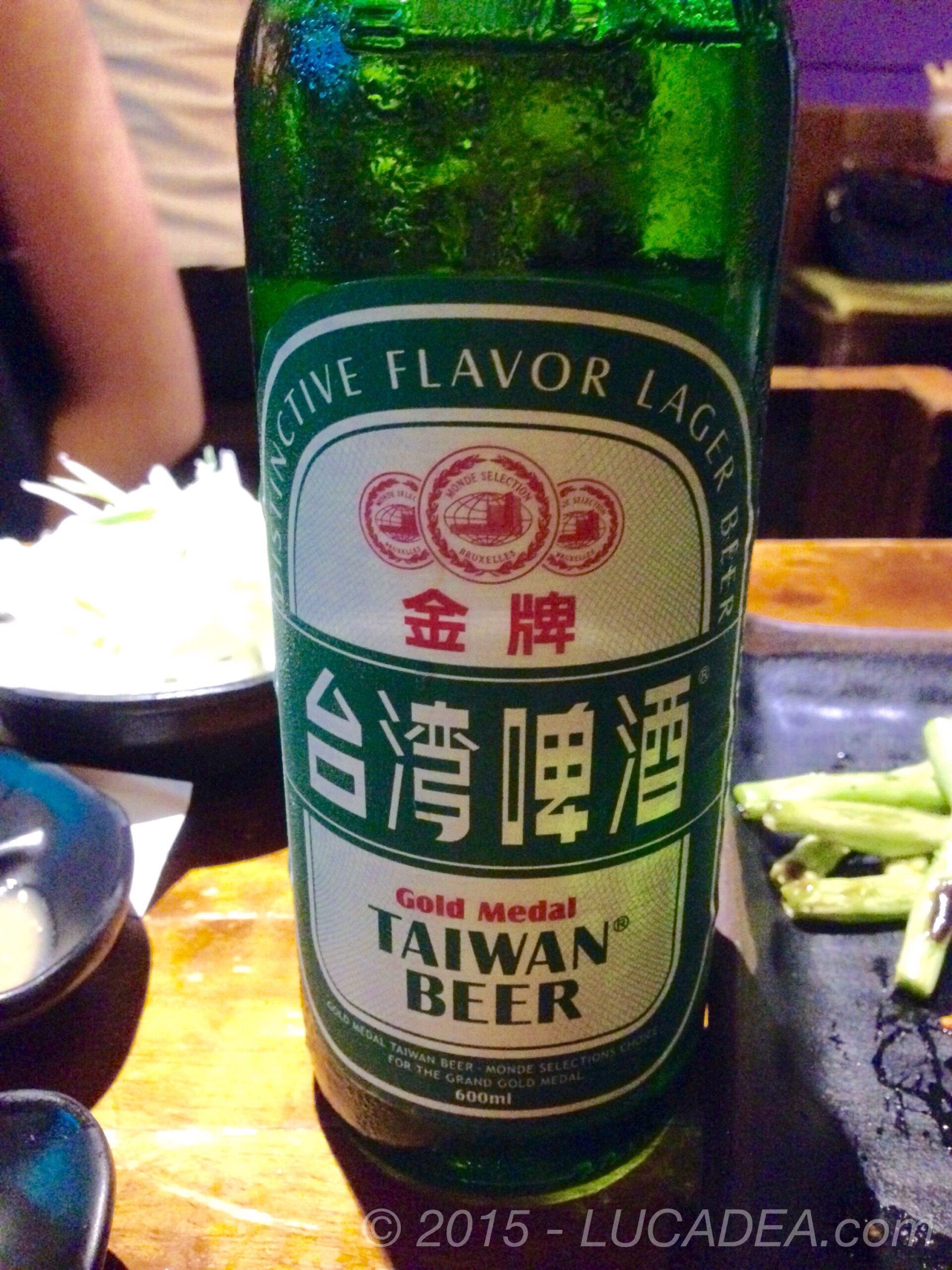 Birra Taiwan: bionda taiwanese