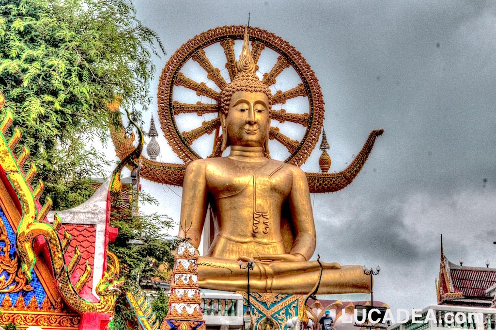 Il Buddha gigante di Koh Sumui