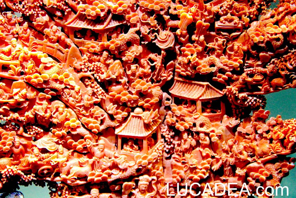 Gioielli di corallo rosso: in mostra a Taipei in Taiwan