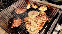 Bistecca fiorentina in BBQ - barbecue o grigliata (foto)