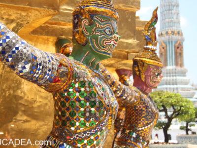 Bangkok, palazzo reale e tutta la città