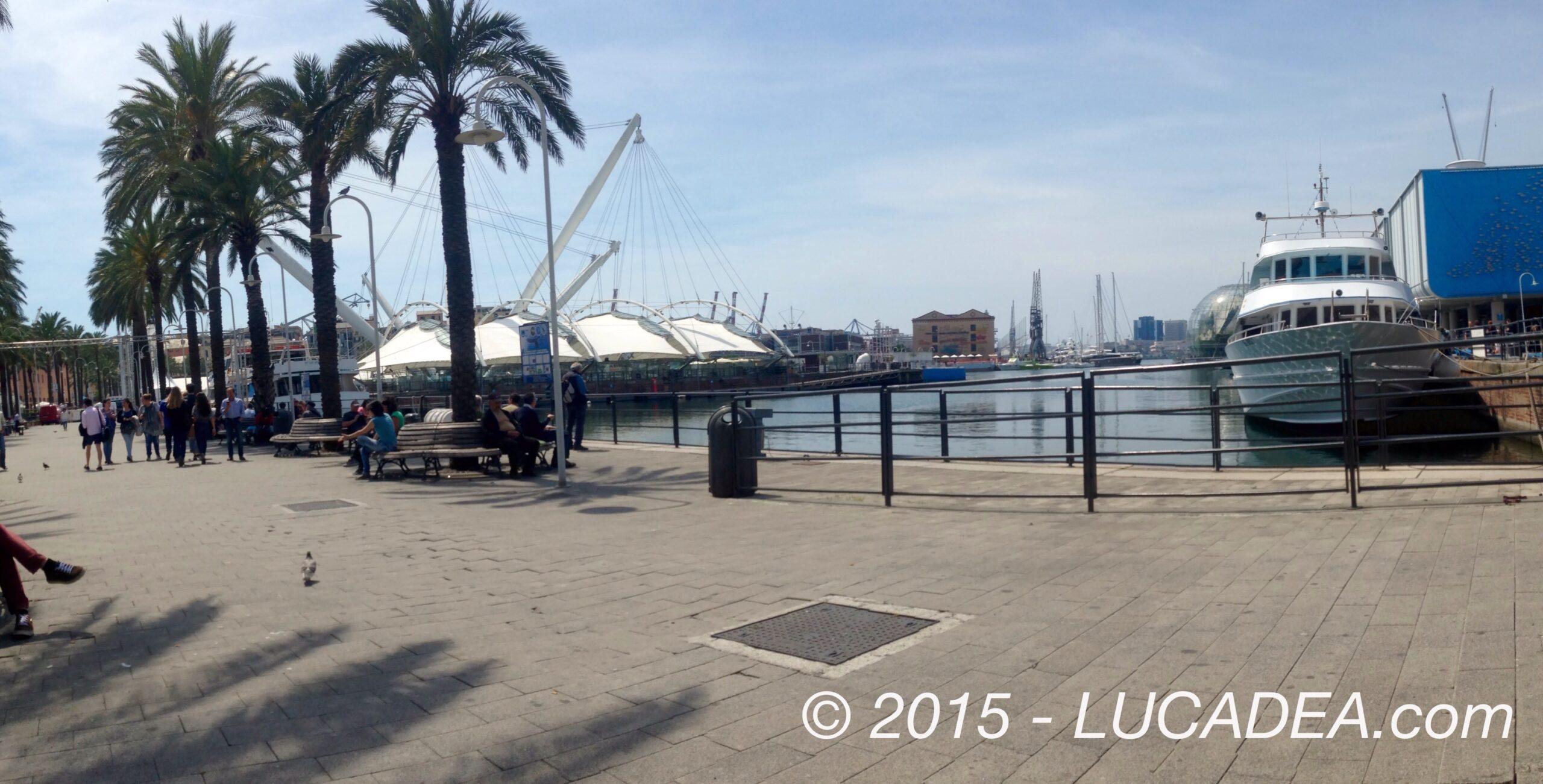 Relax al porto antico di Genova