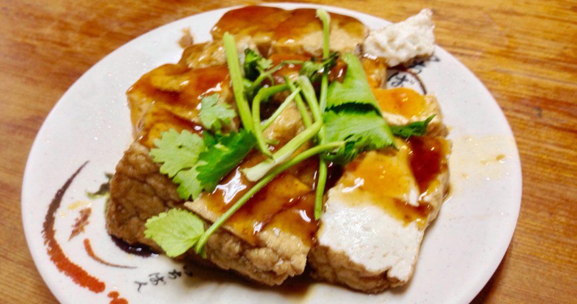 Tofu alla salsa di soia