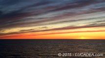 Alba e tramonto norvegese