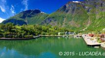 Flam, piccolo porto in Norvegia