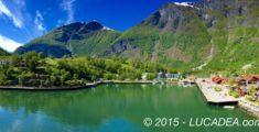 Flam, piccolo porto in Norvegia (foto)