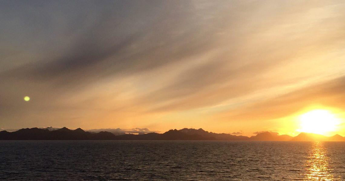 Tramonto-alba norvegese