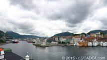 Bergen vista dalla nave