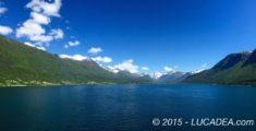 Il fiordo di Andalsnes