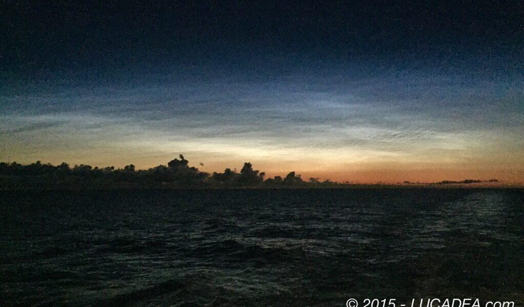 Un cielo quasi dipinto