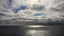 Sprazzi di sole settembrino nel mare norvegese