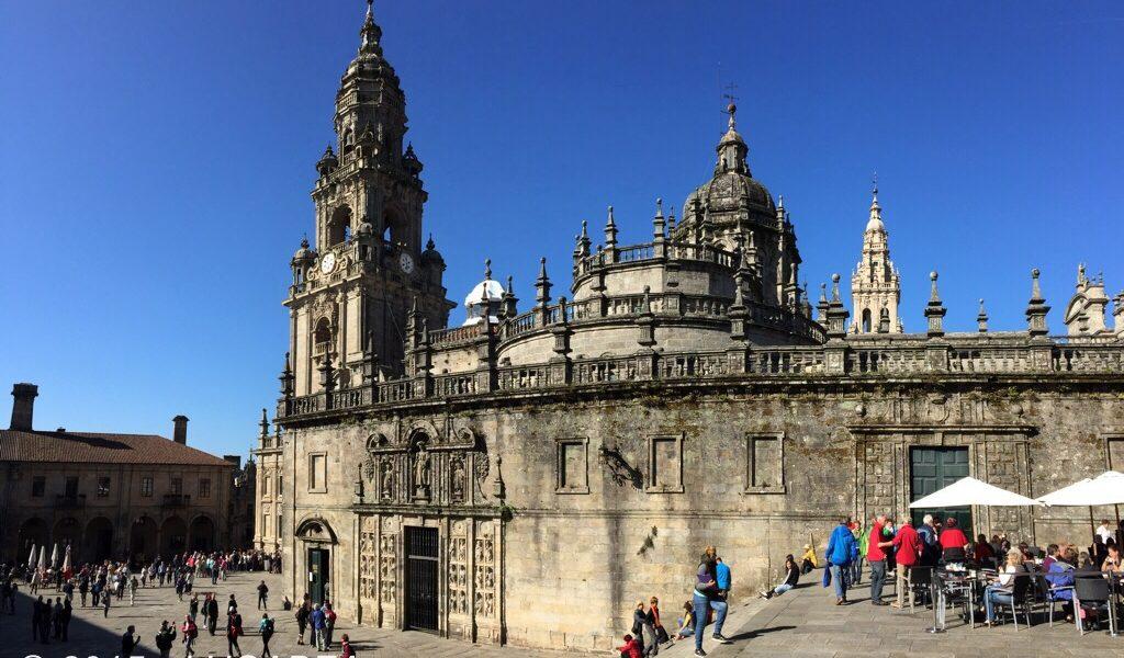La cattedrale di Santiago de Compostela