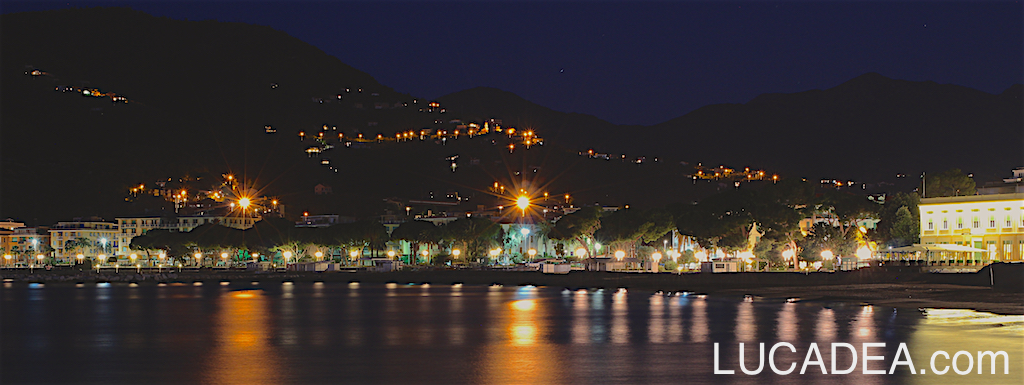 Baia delle Favole in notturna