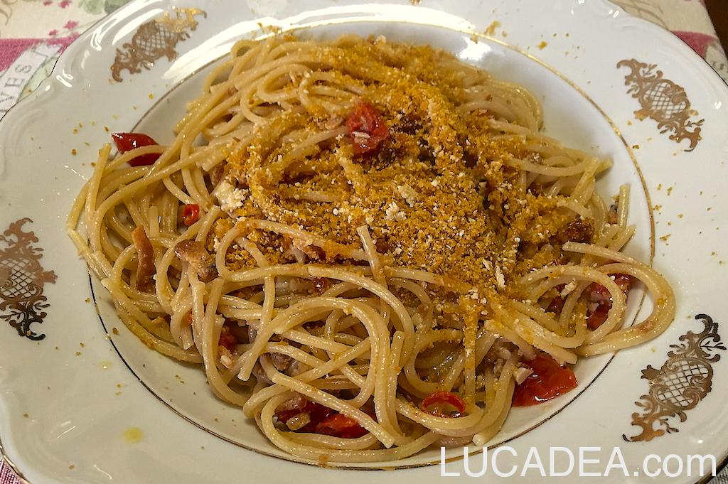 Spaghetti integrali a modo mio, la ricetta