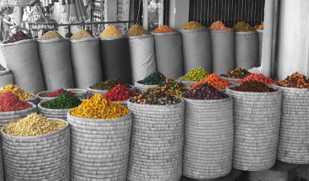 Spezie a Marrakech