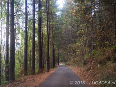 Strada per il lago di Giacopiane