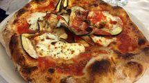 Pizza melanzane e stracchino