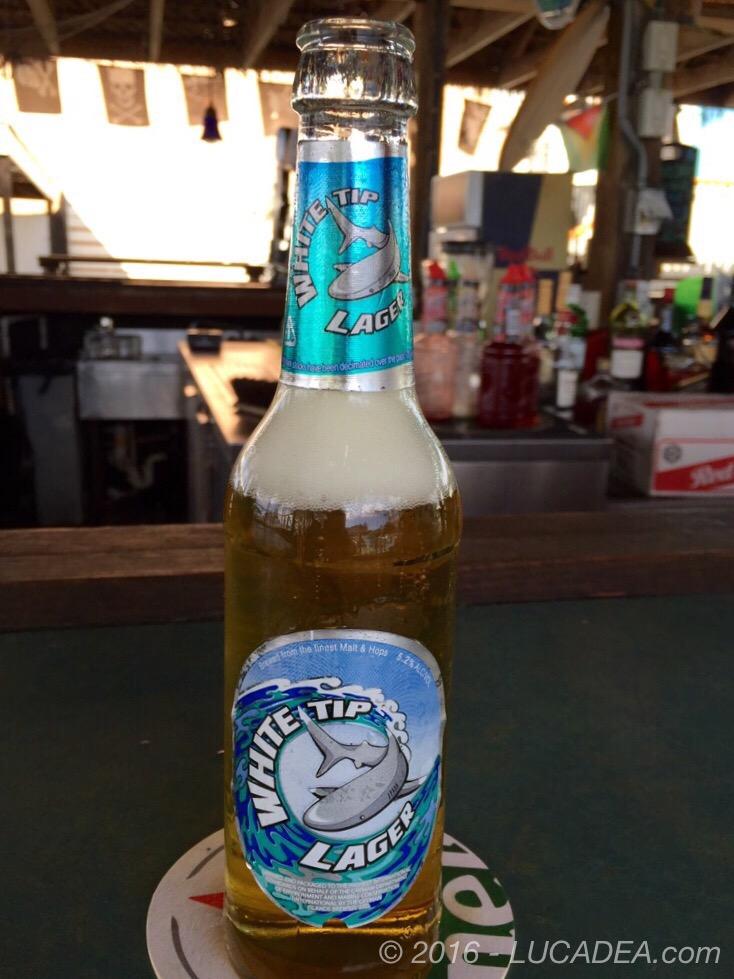 Birra White Tip: bionda di Grand Cayman