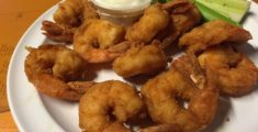 Bufalo shrimps fritti