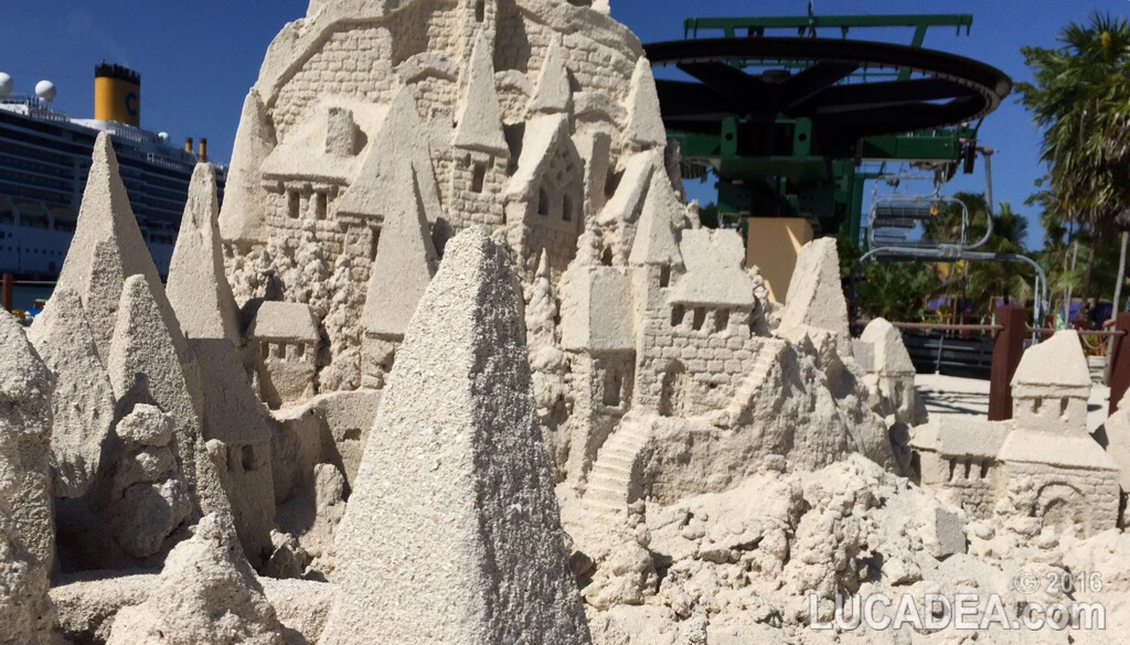 Castelli di sabbia in Honduras