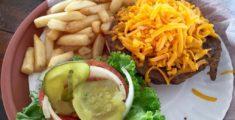 Cheeseburger con tanto cheese