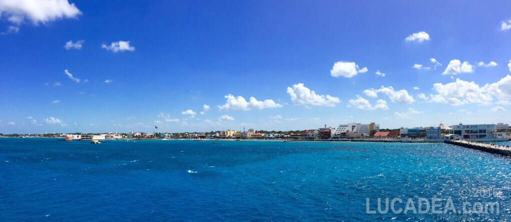 La costa di Cozumel