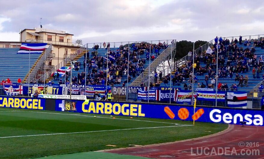 Empoli-Sampdoria 12 marzo 2016, 1 a 1.