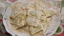 Ravioli alla salsa di noci: la ricetta