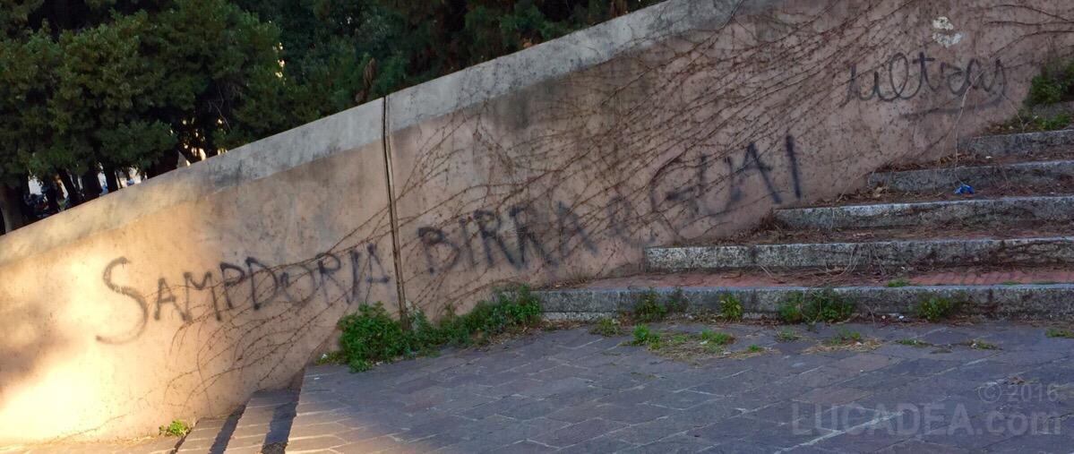 Graffiti Sampdoriani a Genova