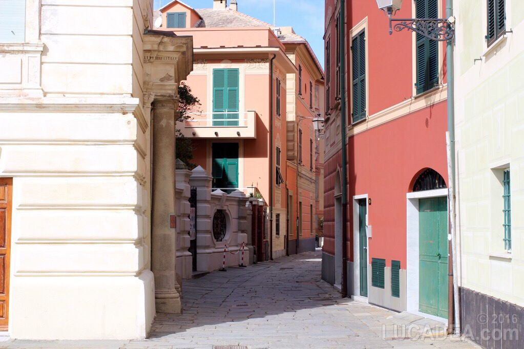 Via Cappuccini a Sestri Levante
