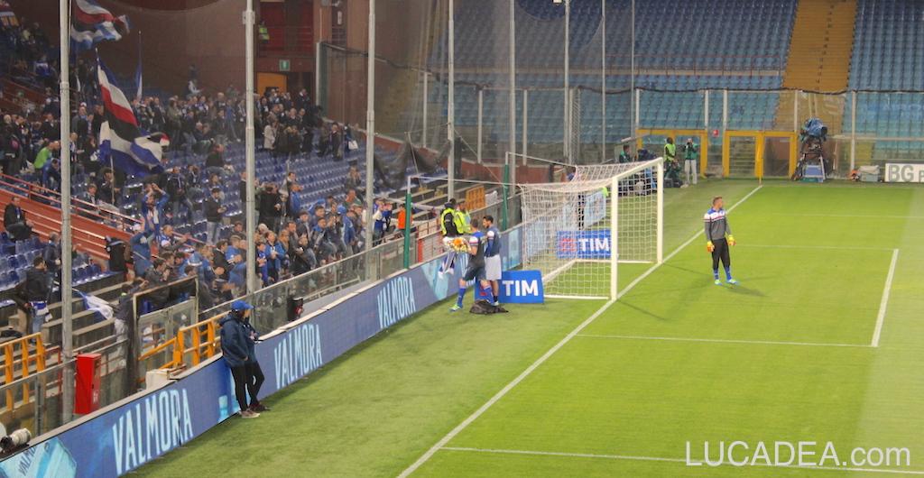 Sampdoria-Milan 2015/2016