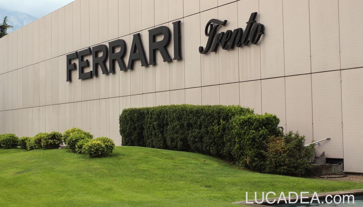 Visita alle Cantine Ferrari a Trento (foto)