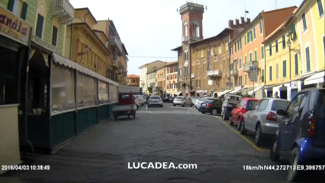 Sestri Levante in Car-Cam