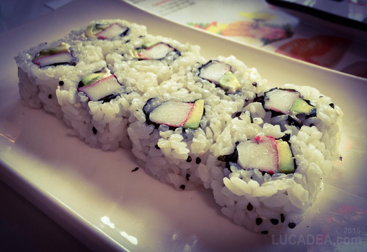Sushi ura california
