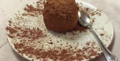 Tartufo al cioccolato