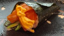 Sushi Temaki Spicy Salmon